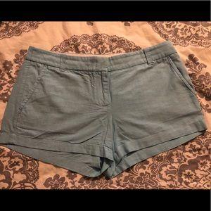 J.Crew Chino Shorts Size 10 - Blue